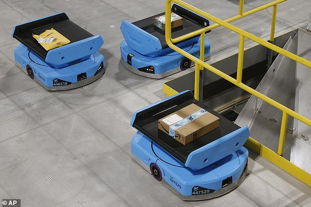 Amazon warehouses with robots have 50 percent more serious injuries than those without 6