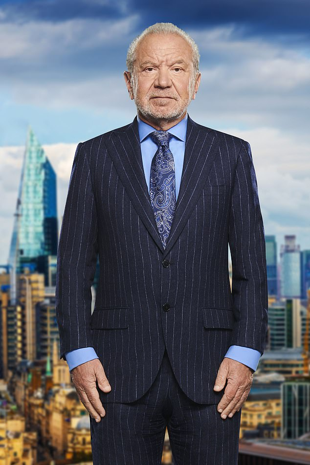 British Millionaire Lord Alan Sugar is out of quarantine to begin filming The Celebrity Apprentice 22