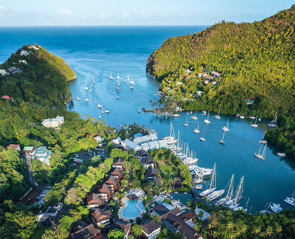 The St Tropez of the Caribbean: A review of St Lucia's Marigot Bay Resort 1
