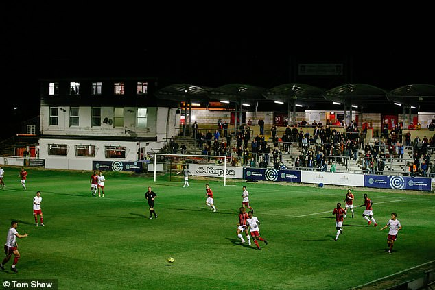 The Dripping Pan quenches thirst: Fans seeking live action enjoy Lewes FC's clash with Worthing 8