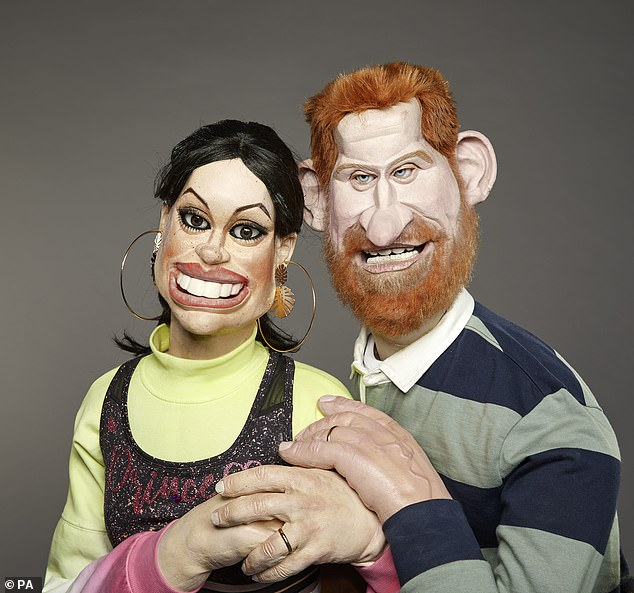 CRAIG BROWN: As Spitting Image puppets return... it's Satireday night lively and dangerous!  10