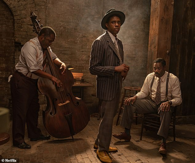 Chadwick Boseman pictured in final role as Netflix releases images from Ma Rainey's Black Bottom 11