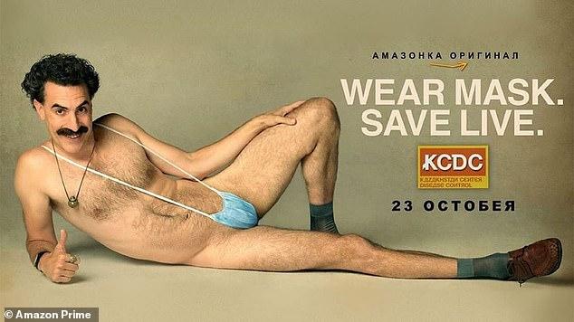 Borat 2: Sacha Baron Cohen's Borat wears a face covering in poster for sequel 4