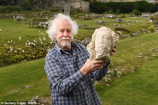 Archaeology: 700-year-old stone head thought to depict King Edward II unearthed in Dorset  6