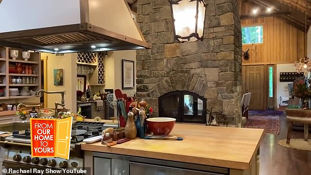 Rachael Ray gives a tour of the'strangely homey' guest house she has been living in after fire 5