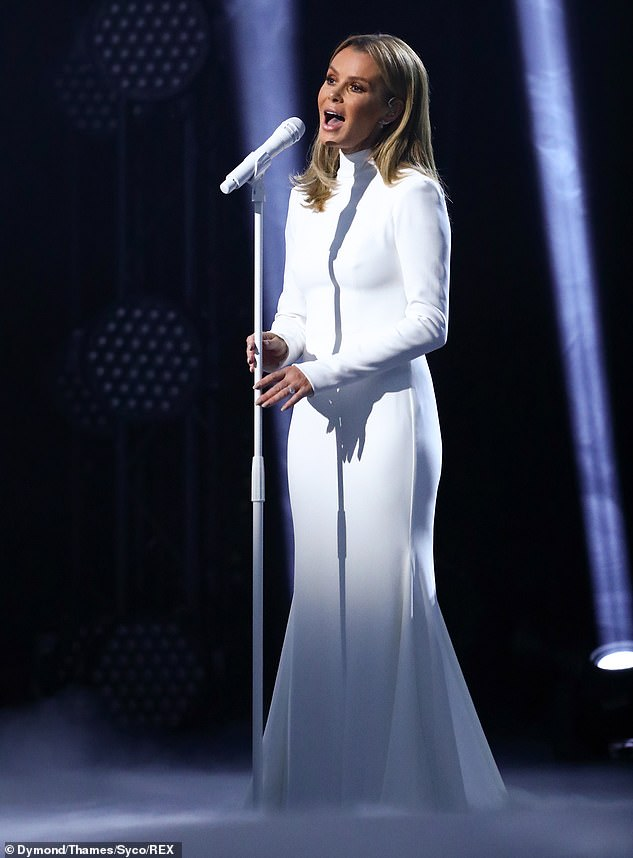 Amanda Holden wows fans with her moving rendition of Sweeney Todd's Not While I'm Around 5