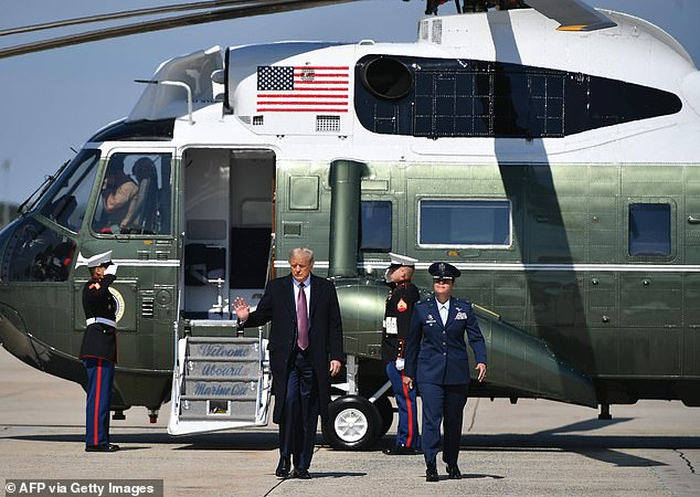 Covid crisis sweeps White House, as Air Force One and Marine One fleet will be grounded for cleaning 1