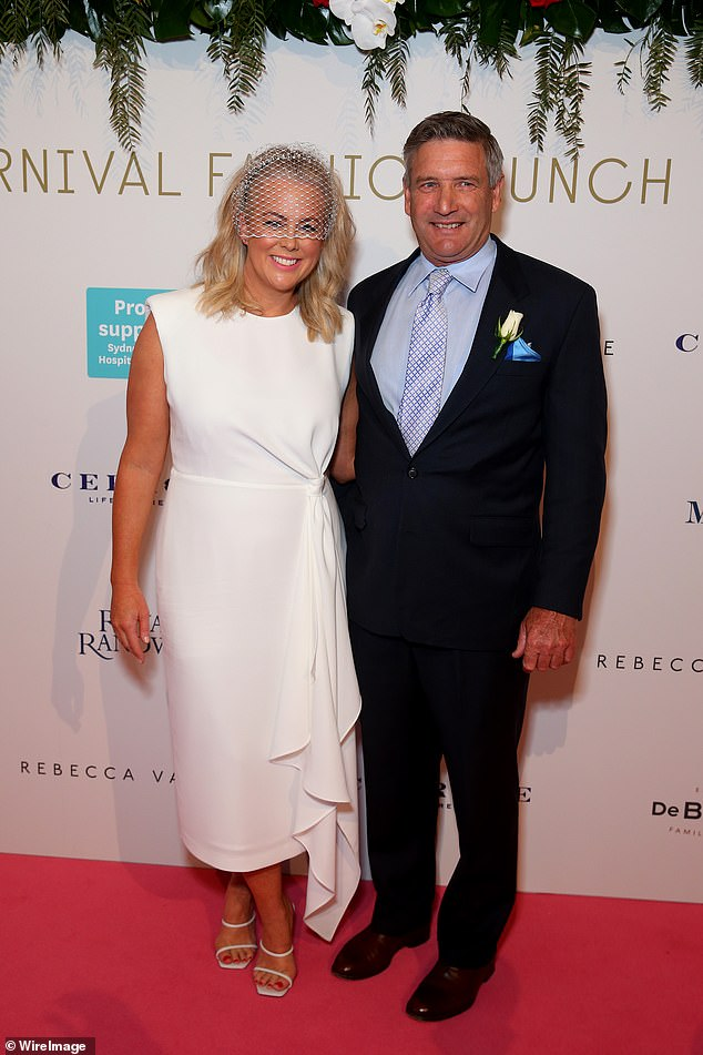 Newly engaged Sunrise host Sam Armytage steps out in stunning white dress 2