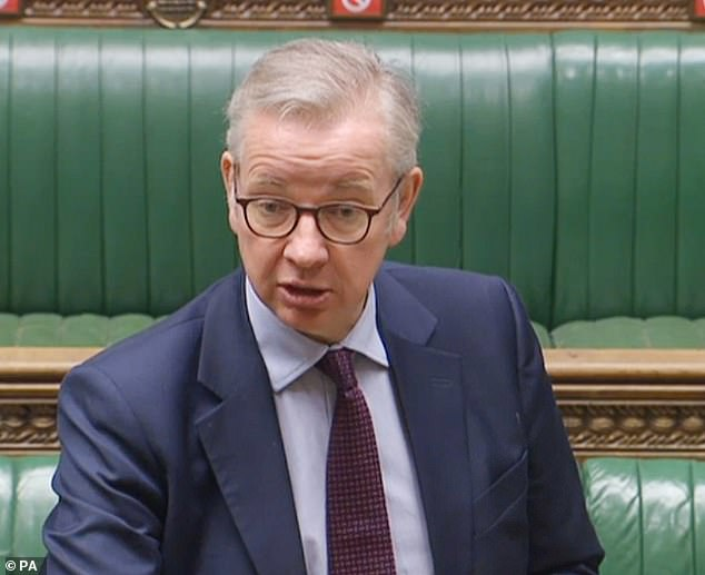 Surrey Heath MP Michael Gove demands civil servants are moved out of London 1