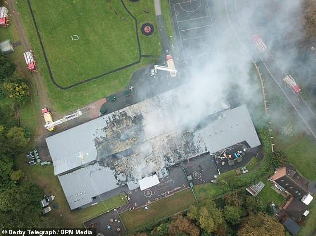 School burns to the ground after 'devastating' 5am fire rips through building 2