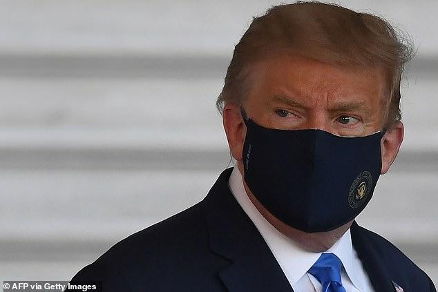 HAMISH MCRAE: Sick Trump won't infect shares 6