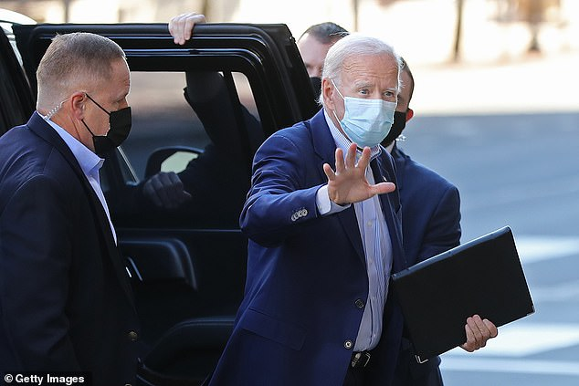 Joe Biden reveals he hasn't had a COVID test today and won't have one until Sunday 6