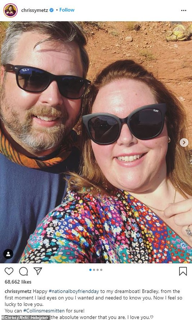 Chrissy Metz goes Insta official with new boyfriend Bradley Collins after split with Hal Rosenfeld 6