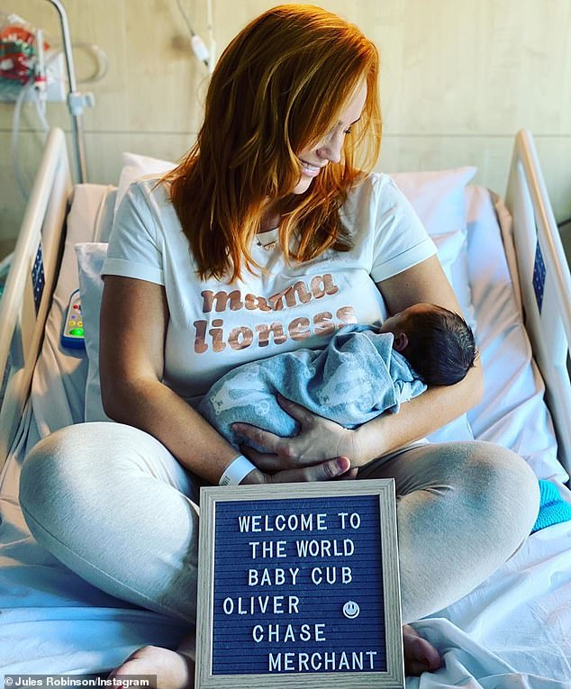 MAFS: Jules Robinson got special treatment after giving birth to her son 6