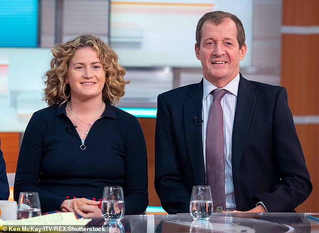 Alastair Campbell's daughter says she felt a responsibility to cheer him up when he was depressed 6