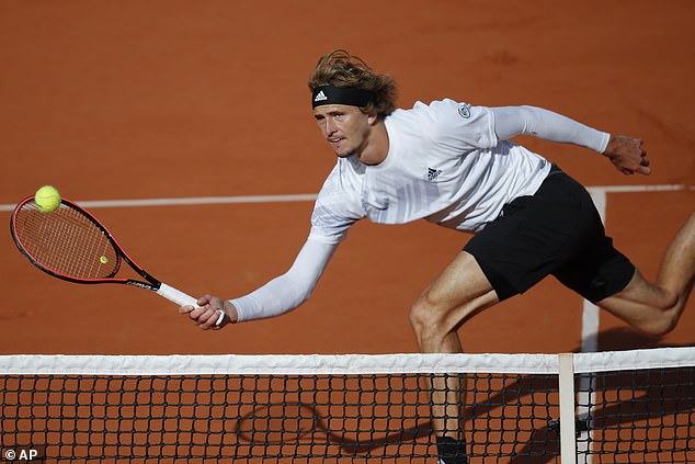 Alexander Zverev reveals he has coronavirus symptoms after crashing out of the French Open 1