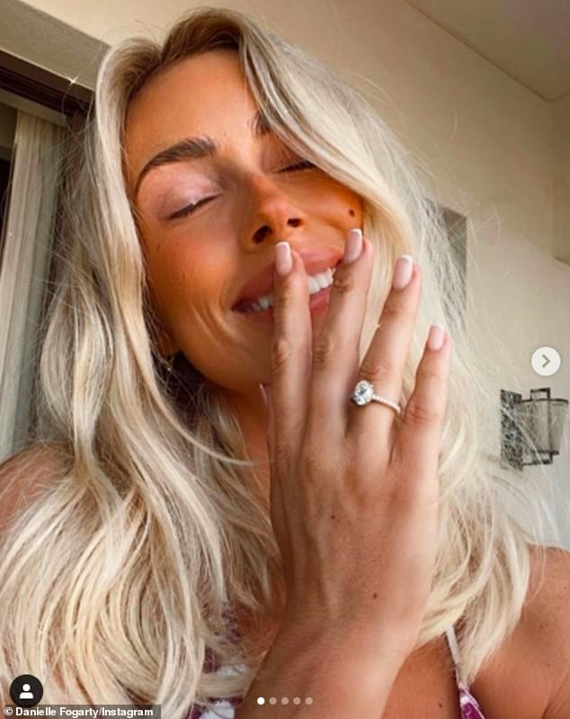 Danielle Fogarty is ENGAGED! | Daily Mail Online 1