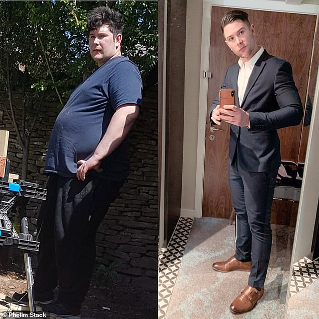 Man who was dumped by his girlfriend at 26 stone unveils his VERY ripped physique 3
