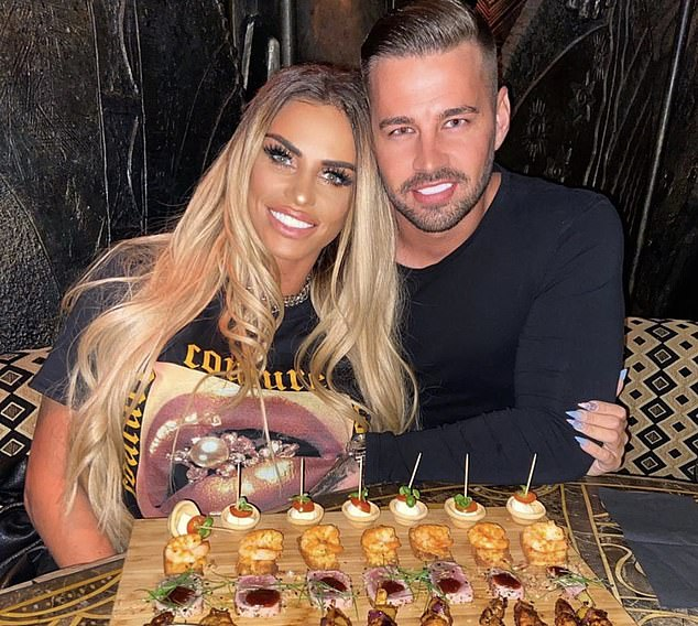 Katie Price claims boyfriend Carl Woods is the 'real deal' and her exes were 'dress rehearsals' 2