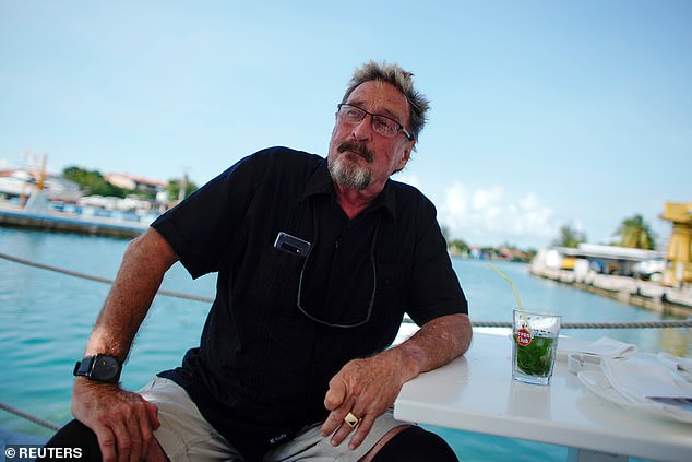 John McAfee is arrested in Spain and charged with tax evasion 4