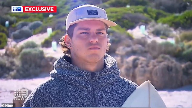 Perth North Beach shark attack: Teen surfer Sav Marafioti 'thought he was going to die' 9