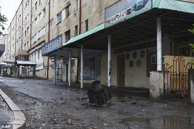 Azerbaijani forces are using banned cluster bombs on their Armenia enemies 1
