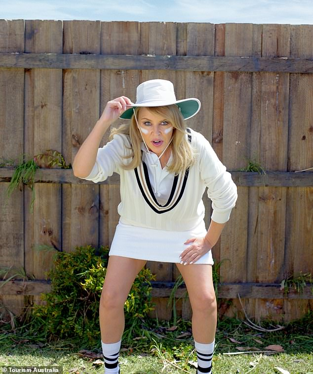 Kylie Minogue admits that people often forget that she's Australian 1