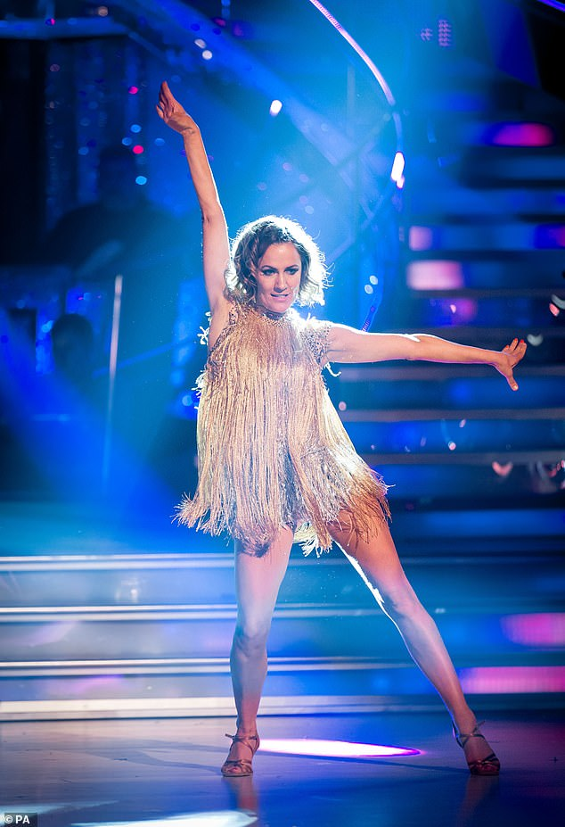Strictly Come Dancing stars break down in tears as they pay a moving tribute to Caroline Flack 5
