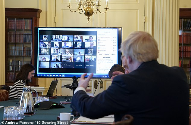 Now Tory conference is hit by tech glitches too 6