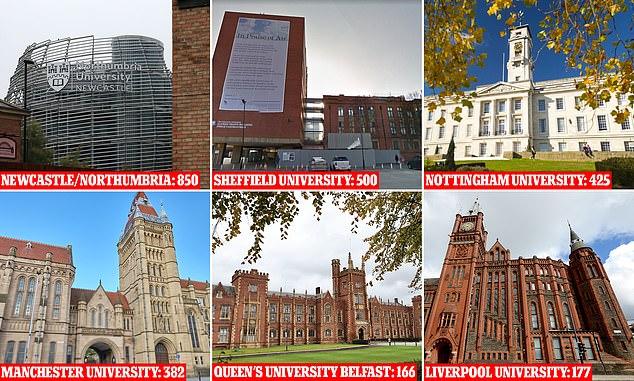 Nearly 4,000 students have Covid: 70 Durham University undergraduates are latest to test positive 5