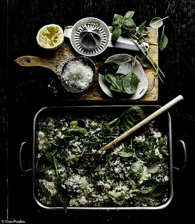 Hay presto!: Super green baked risotto 6