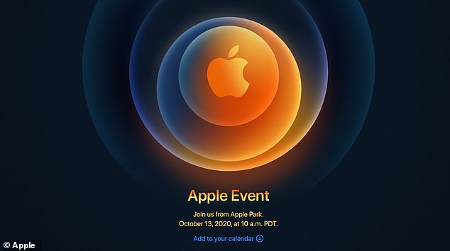 Apple is set to announced its new iPhone on October 13 during an online event 4