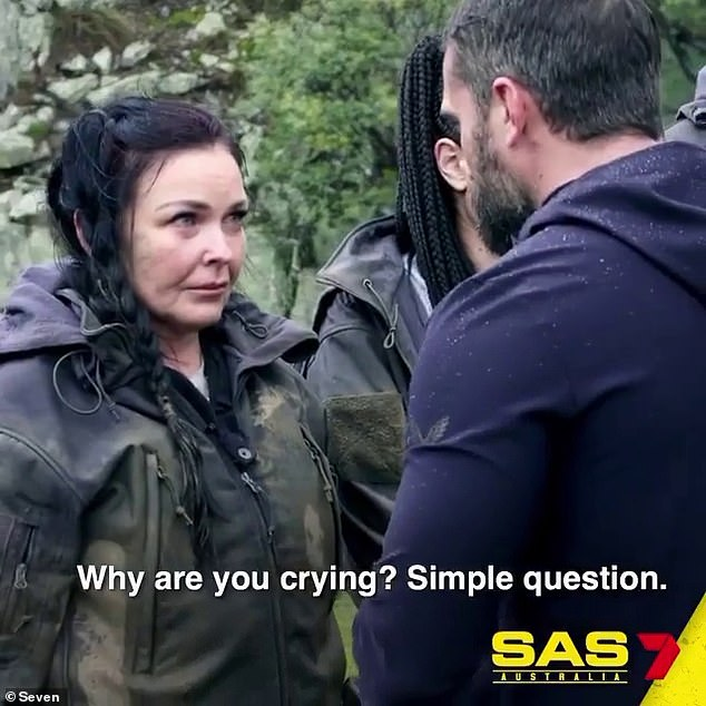 Schapelle Corby is reduced to tears during a grueling challenge in a trailer for SAS Australia 3
