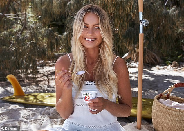 The Block's Elyse Knowles is revealed as an ambassador for low-sugar Two Good yoghurt 5