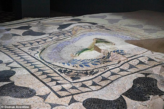Archaeology: Roman villa packed with mosaics unearthed under flats at foot of the Aventine Hill 2