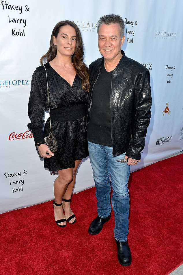 Eddie Van Halen's widow says her 'heart and soul have been shattered into a million pieces' 2