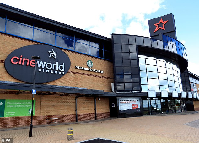 MARKET REPORT: Cineworld shares fall as Chinese tycoon hovers 4
