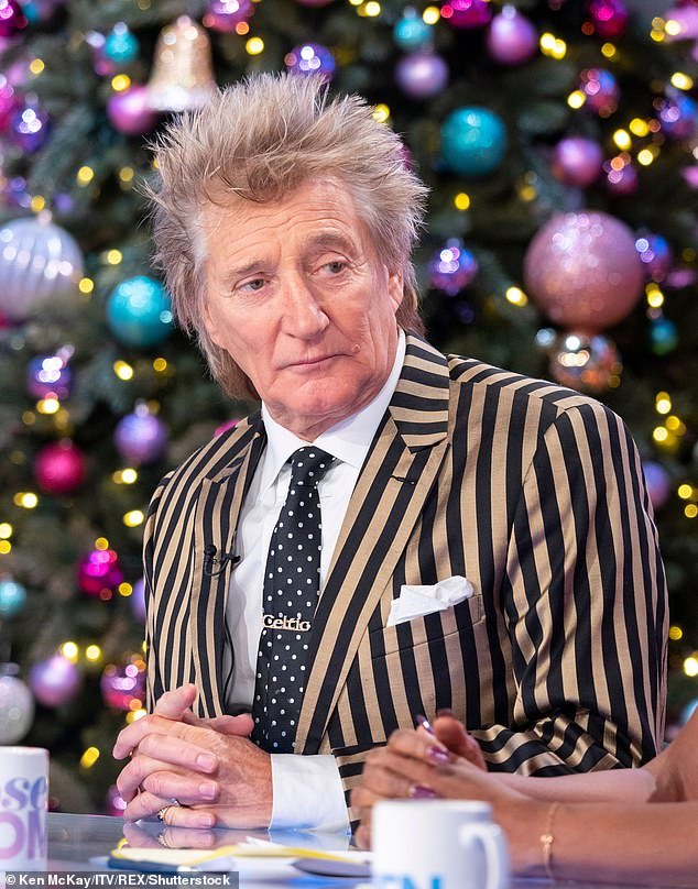 Rod Stewart reveals he has to undergo an ankle operation after having knee replacement surgery 3