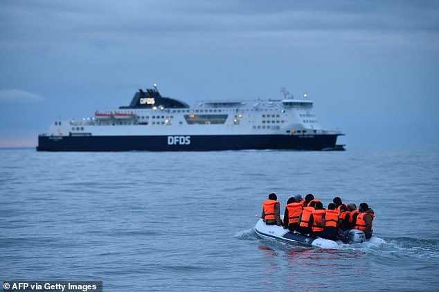 Migrants WILL be held on ferries off the British coast 6