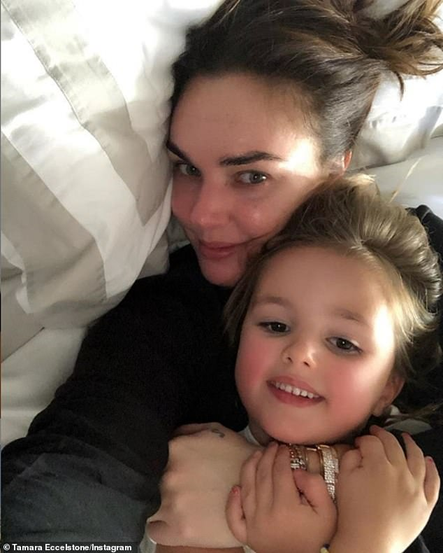 Tamara Ecclestone confirms arrival of second daughter Serena 3