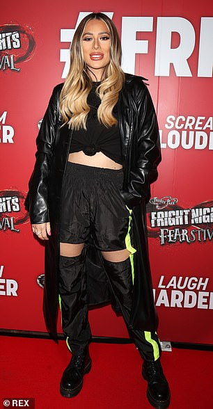 Demi Sims joins sister Frankie and Love Island stars at Thorpe Park's Fright Night launch 2