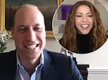 Prince William discusses tackling climate change in video call with Shakira 2