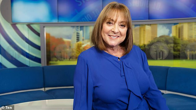 Studio 10's Denise Drysdale is hospitalised after suffering a fall   6