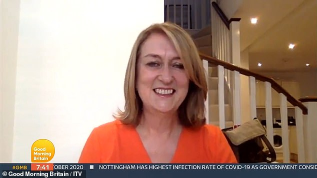 Strictly's Jacqui Smith makes a VERY cheeky joke about her jugs on GMB 2
