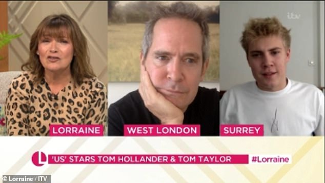 Lorraine Kelly's interview with Tom Hollander and Tom Taylor is branded a 'car crash' 2
