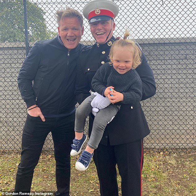 Gordon Ramsay reveals son Jack, 20, has joined the Marines in a series of celebratory family snaps 4