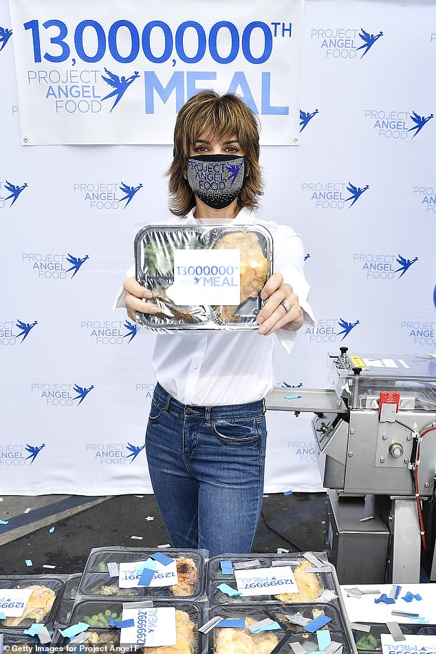 Lisa Rinna presents Project Angel Food's 13 Millionth Meal 1