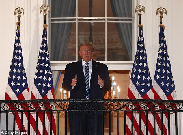 Donald Trump will hold his first public event since COVID on White House South Lawn 3