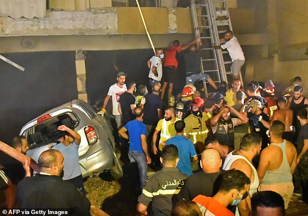 Four dead, several injured in Beirut fuel tank explosion 14
