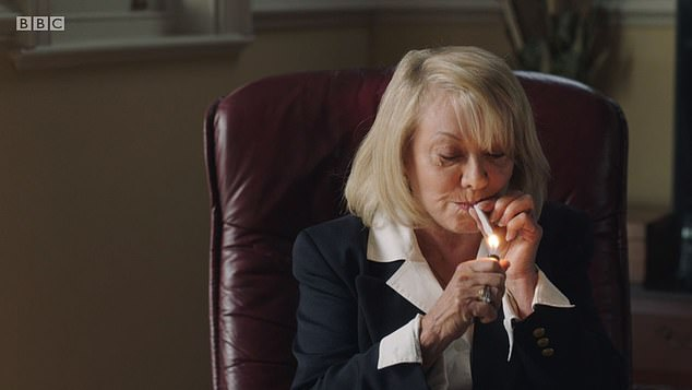 Singer Elaine Paige says playing a pot-smoking marriage wrecker in new BBC drama Life is easy 3